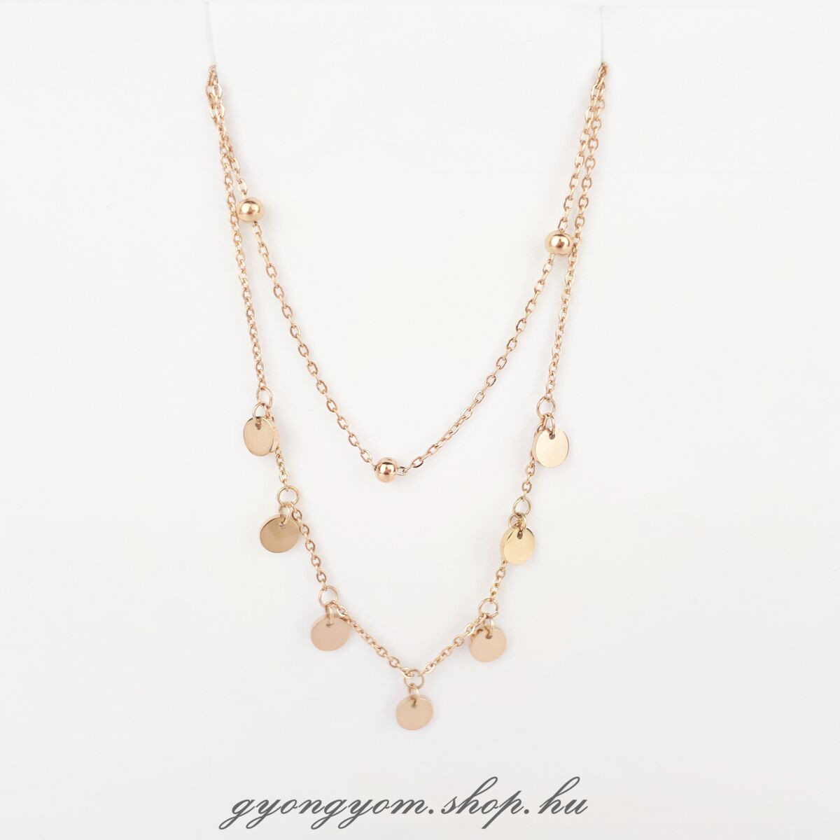 Amabel rozé arany nyaklánc