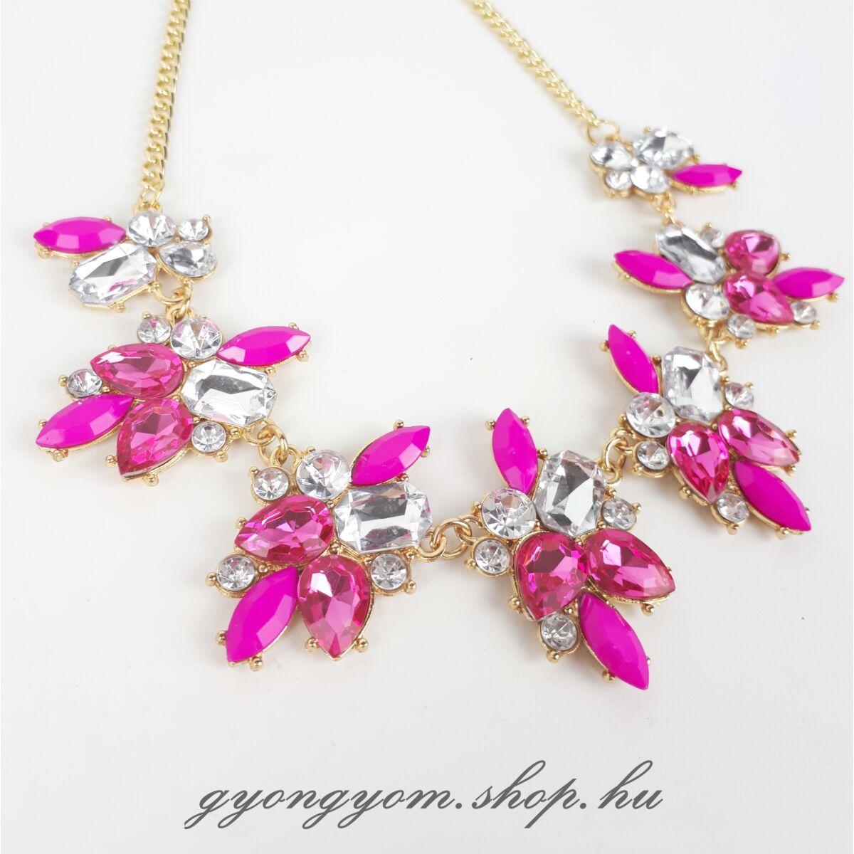 Kisa pink nyaklánc