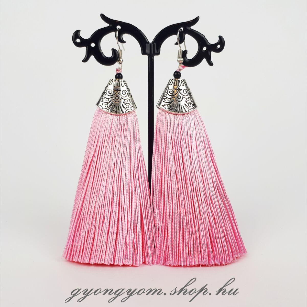 Reva rózsaszín fülbevaló