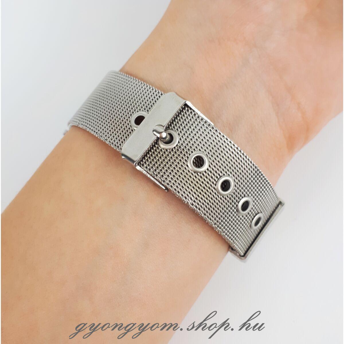 Gemma ezüst színű óra