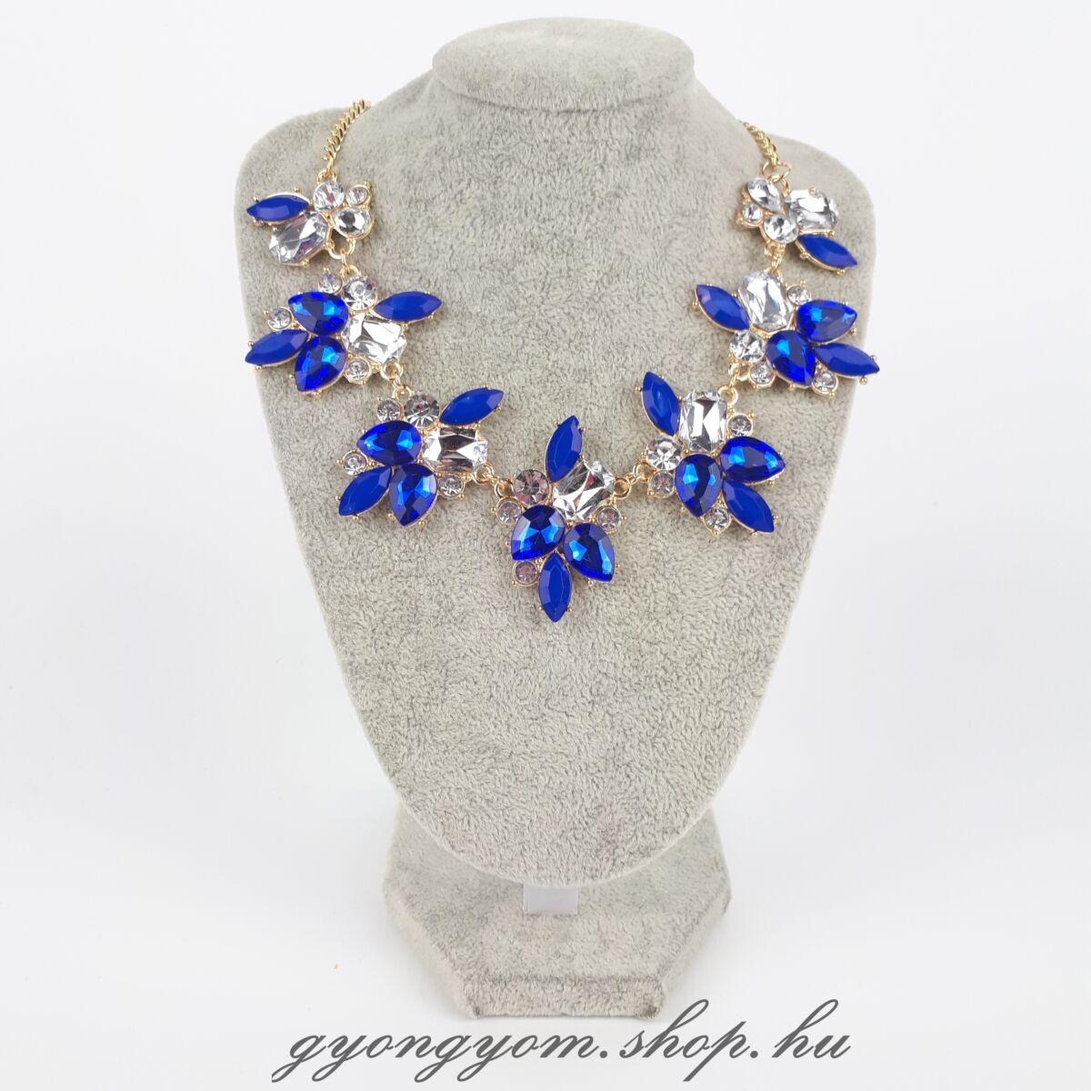 Kisa kék nyaklánc