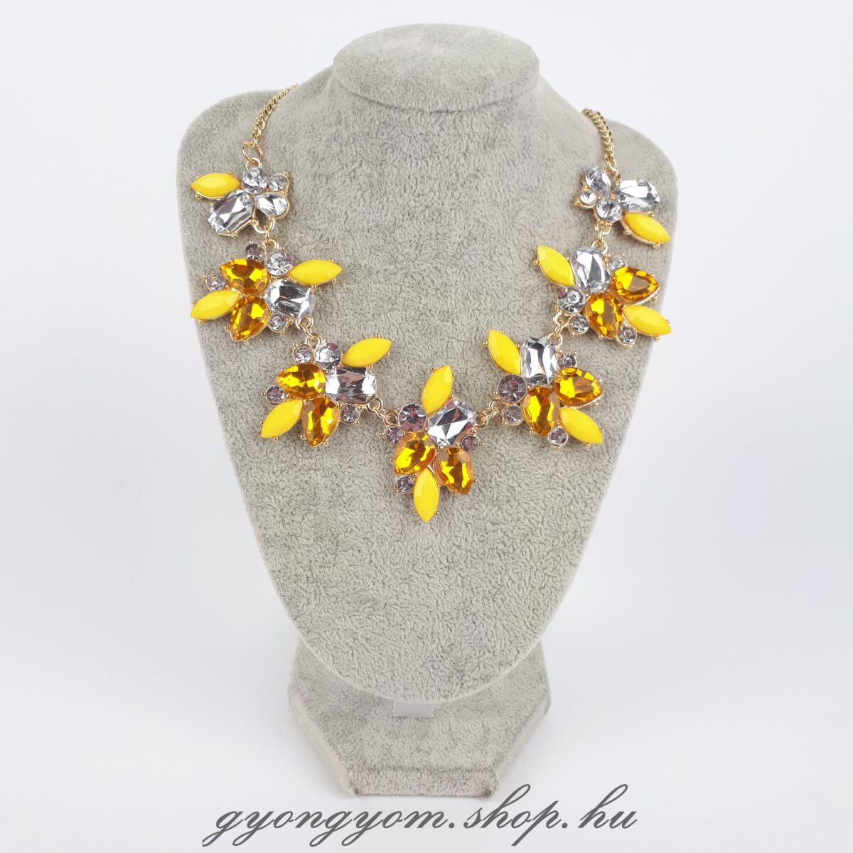 Kisa sárga nyaklánc