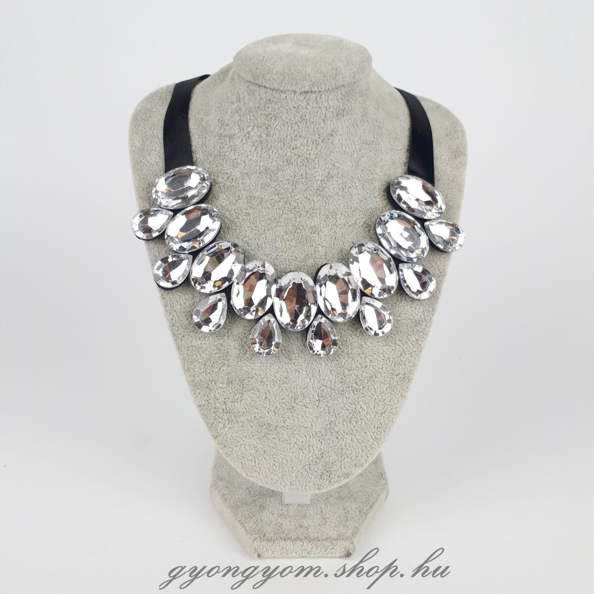 Elana ezüst köves nyaklánc