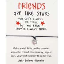 Friends barátság karkötő