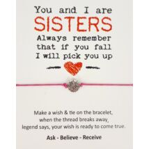 Sisters barátság karkötő