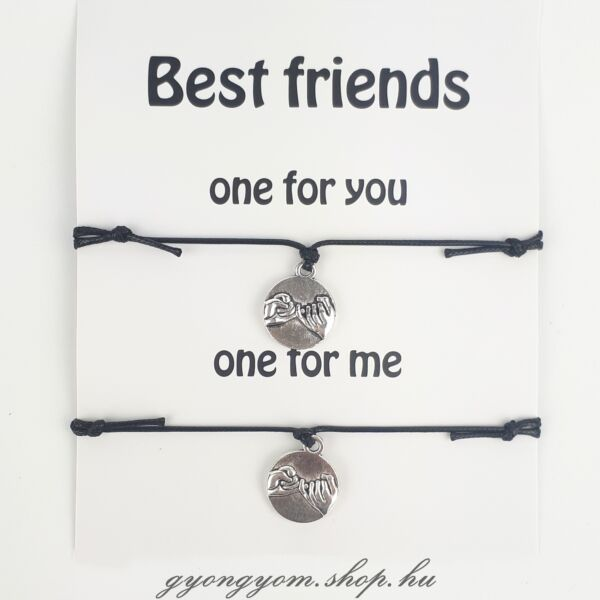 Pinky Promise barátság karkötő