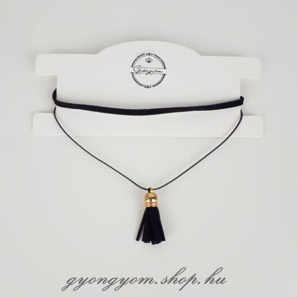 Belatrix fekete nyakpánt