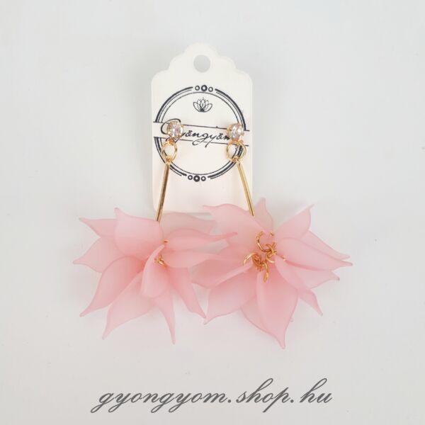 Eilin rózsaszín fülbevaló
