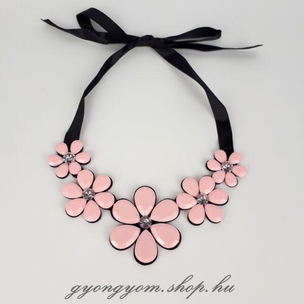 Nitida rózsaszín nyaklánc