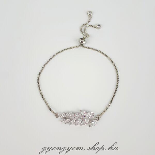 Effie ezüst színű karlánc