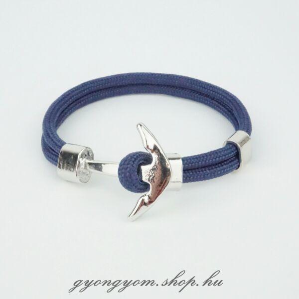 Kék horgony karkötő